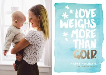 Love Weighs More Than Gold