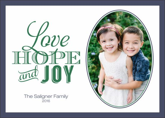 holiday photo cards - Joyful Greetings by Darcy Sang