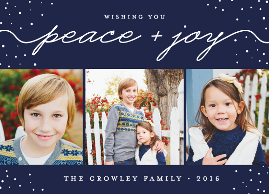 holiday photo cards - Peace and Joy All Year by sparky