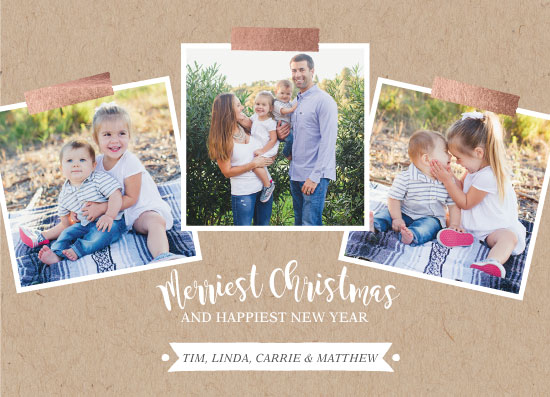 holiday photo cards - Scrapbook Page by Hello Sophie Design Lab