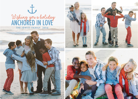 holiday photo cards - Anchored in Love by Denise Cupoli
