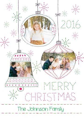 holiday photo cards - Heartfelt Handmade Holiday Ornaments by Christine Rae