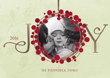 Be Joyful Wreath by Anastasia B. Kijewski