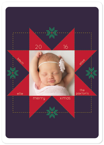 holiday photo cards - 8 stars by carmengolden