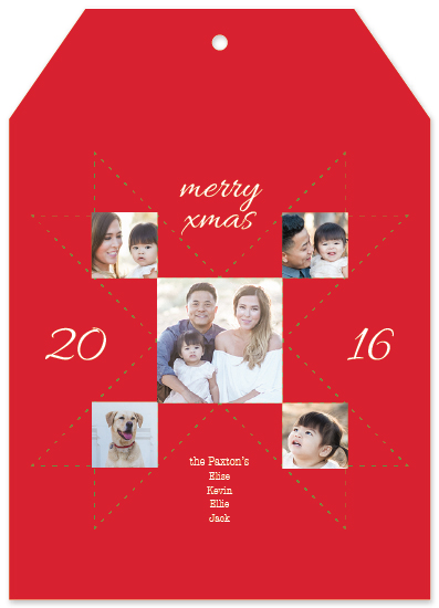 holiday photo cards - cross our hearts by carmengolden
