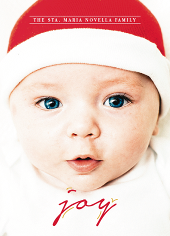 holiday photo cards - Only Joy by Martin Rigodon