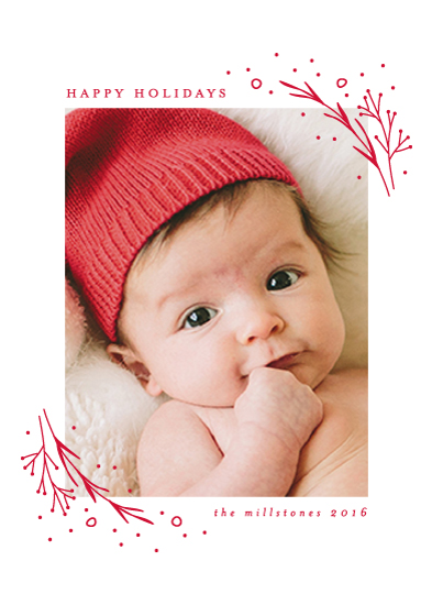 holiday photo cards - Bitty Corners by Lehan Veenker