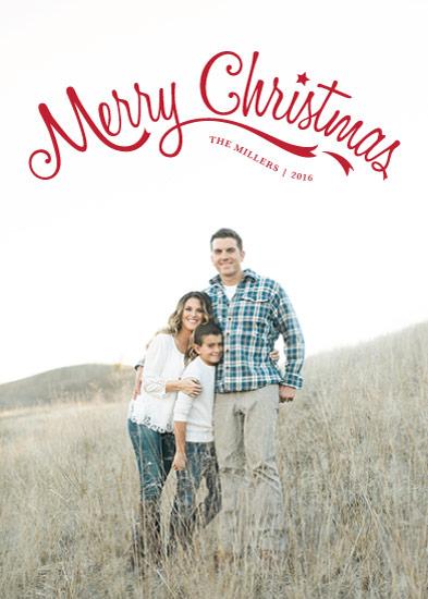 holiday photo cards - Merry Family by Ekaterina Romanova