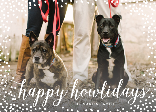 holiday photo cards - Confetti Howlidays by Nicole Barreto