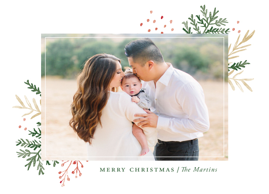 holiday photo cards - Wintertide by Oscar & Emma