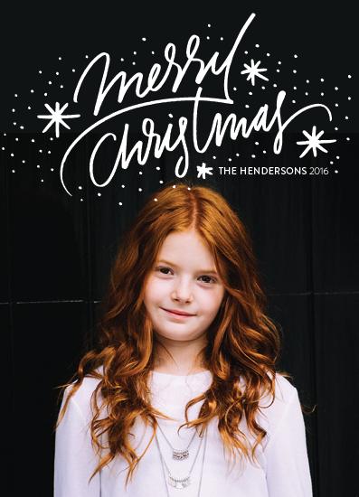 holiday photo cards - christmas wonder by Aspacia Kusulas