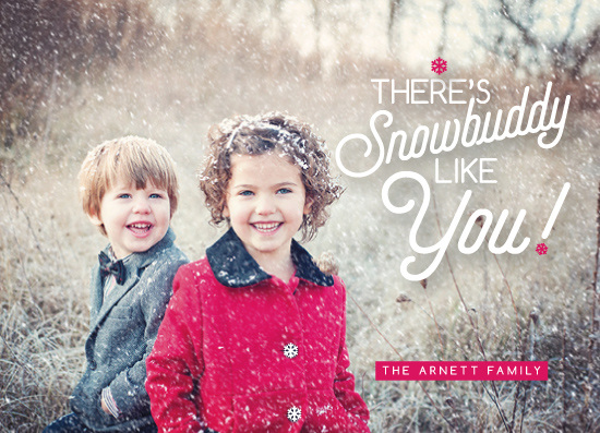 holiday photo cards - Snowbuddy Like You! by Pooja Thacker