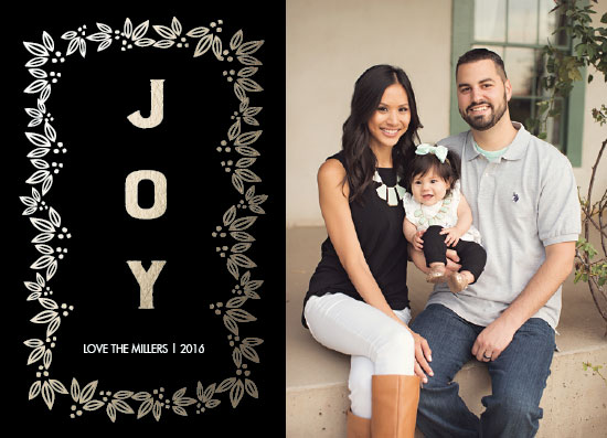 holiday photo cards - joy to behold by Neeta Sawhney