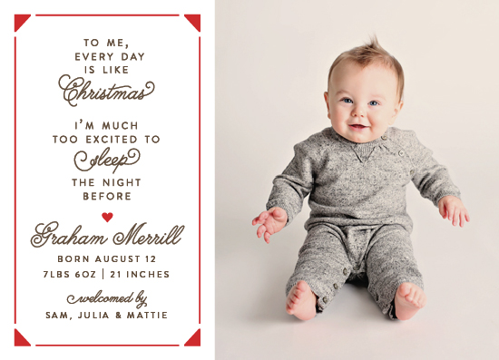 holiday photo cards - Christmas Every Day by Erin L. Wilson