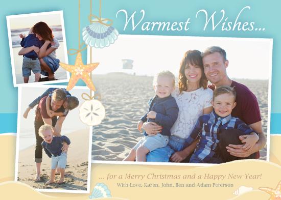 holiday photo cards - Sunny Beach by Carol Yoshizumi