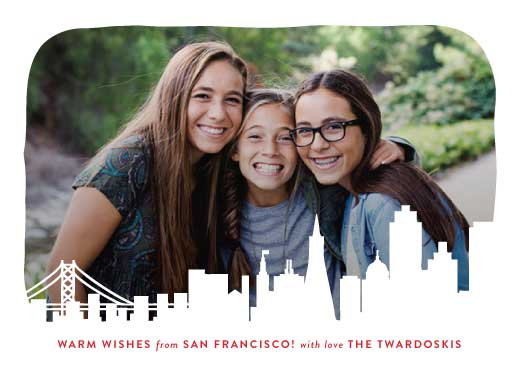holiday photo cards - with love from san francisco by Kimberly Chow