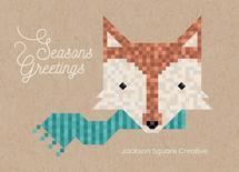 Fox in Blocks by Katarina Berg
