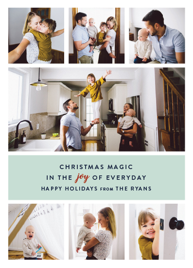 holiday photo cards - Everyday Joy by Ella Weaver