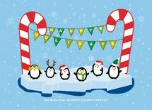 Dancing Penguins by AS Designs