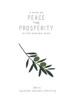 Peaceful Olive Branch