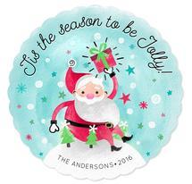 Happy Santa! by Claudia Valenzuela