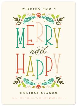 Merry + Happy