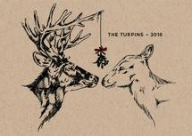 Oh Deer, Mistletoe by Kasi Turpin