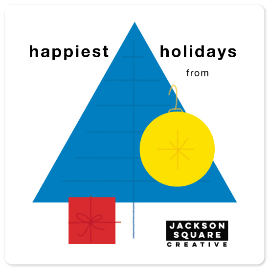 non-photo holiday cards - Bauhaus Holiday by Ray Larry