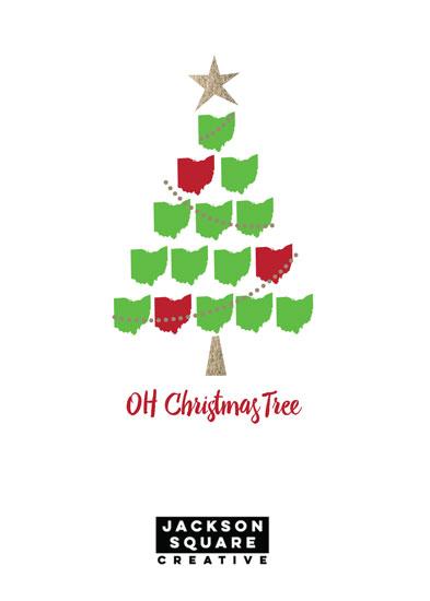 non-photo holiday cards - Oh Christmas Tree by Anastasia B. Kijewski