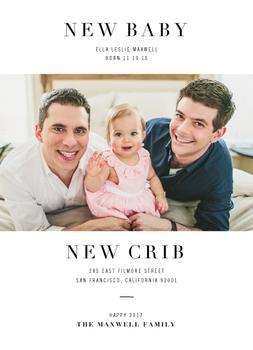 New Baby New Crib