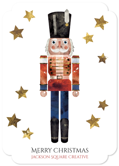 non-photo holiday cards - Toy Soldier by Katarina Berg