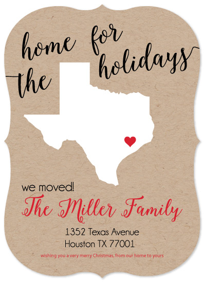 non-photo holiday cards - New Home for the Holidays by Emily Ripka