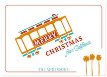 merriest cable car by illustrata.design