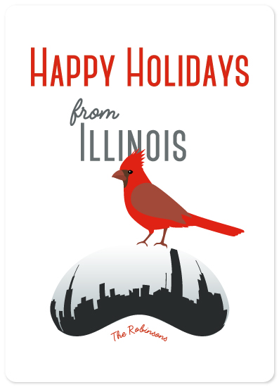 non-photo holiday cards - diamonds and beans by illustrata.design