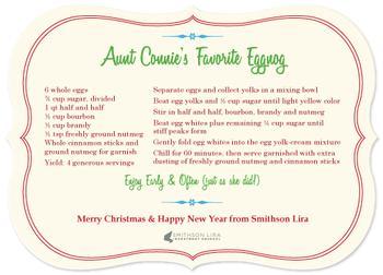 Aunt Connie's Eggnog