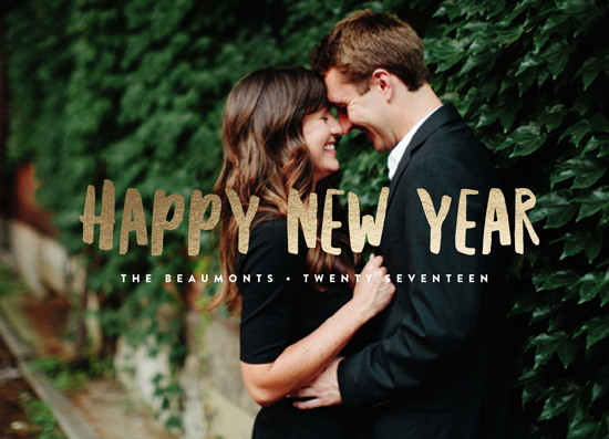 new year's cards - Simple New Year by Erica Krystek