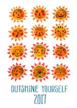 Outshine yourself in th... by Jingwen Ma