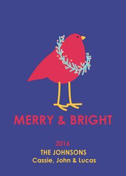 Whimsical Bird Christmas