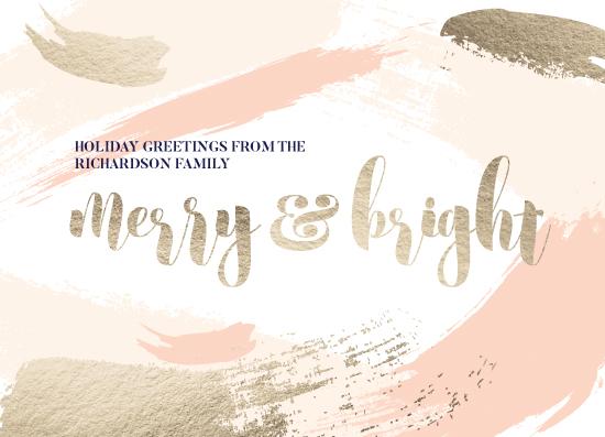 non-photo holiday cards - Merry Artsy by Katrina Lindhorst
