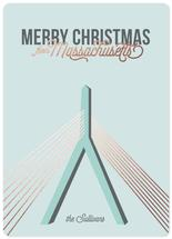 Christmas Bridge by illustrata.design