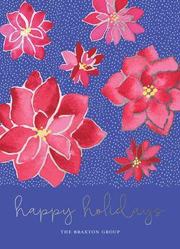Poinsettia Foil Soirée