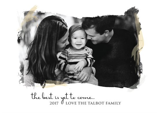 new year's cards - The Best Is Yet To Come by Kate Bond