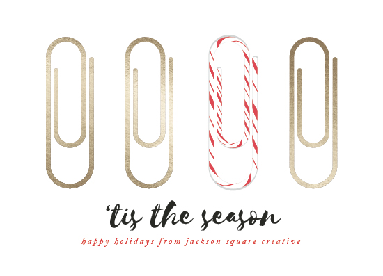 non-photo holiday cards - Candy Clip by Catherine Culvenor
