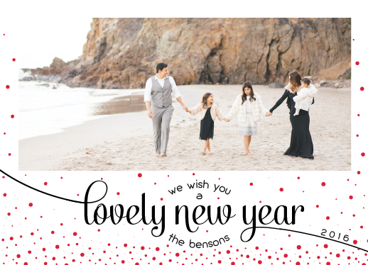 new year's cards - Lovely new year by AnaP Studio