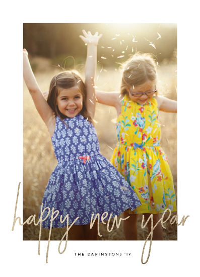 new year's cards - Simple Glow by Simona Camp
