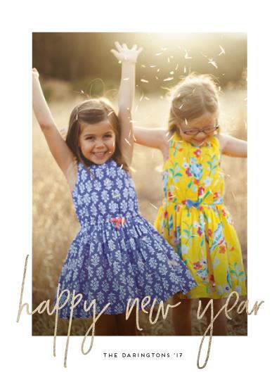 new year's cards - Simple Glow by Simona Cavallaro