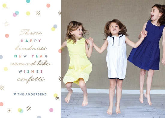 new year's cards - Kindness by Sarah Curry