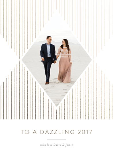 new year's cards - Dazzling 2017 by Seven Swans