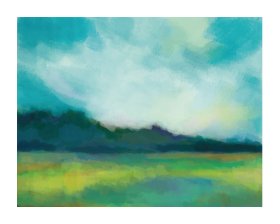 art prints - Meadow Lake by Alison Jerry Designs