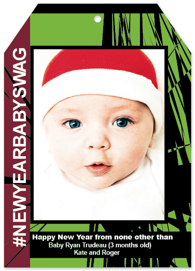 new year's cards - #New Year Baby Swag by Rhonda Kinahan